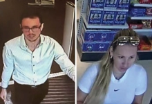 Thieves Ring Up Large Credit Card Purchases