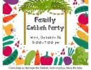 Family Sukkah Party