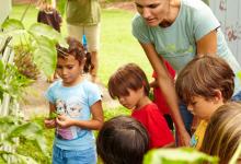 Kim Johnson Supports Schools Growing Food
