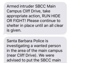 Cops Declare False Alarm Following Lockdown at SBCC