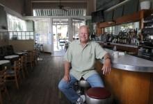 Randy Rowse Selling Paradise Café