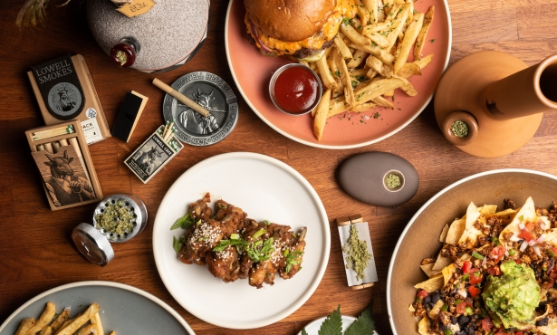 Visiting America's First Weed Restaurant