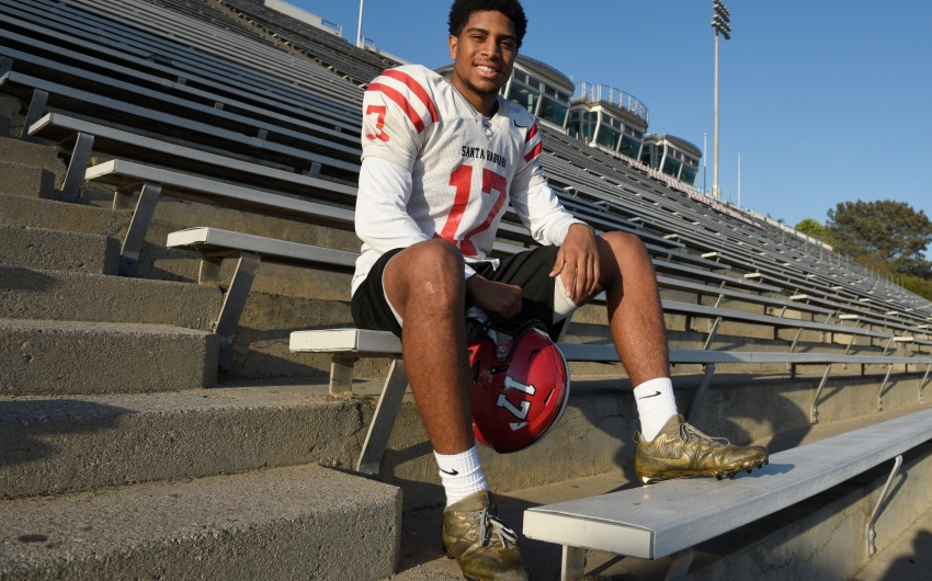 SBCC's Cyrus Wallace Turns Pain into Gain