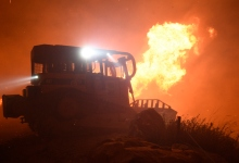 UPDATE: Cave Fire Erupts on Santa Barbara Side of 154