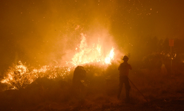 Cave Fire 90 Percent Contained, Highway 154 Open