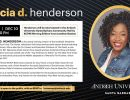 An Evening with Felicia D. Henderson