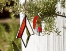Modern Stained Glass Ornaments Workshop