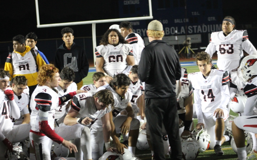 Bishop Diego Eliminated by Top-Seeded Culver City 34-6