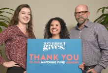 Brandi, Emily, and Gary on the Giving Season