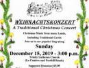 Weihnachtskonzert – A Traditional Christmas Concert