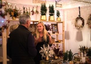 Twilight Holiday Market Opens at DLG Plaza