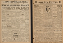 UCSB Digitizes Long-Forgotten Carpinteria Newspaper