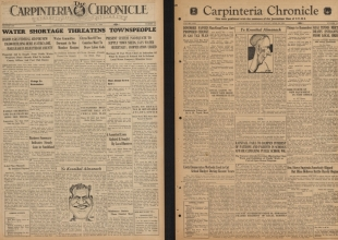UCSB Digitizes Long-Forgotten Carpinteria Newspaper