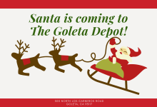 Santa Is Coming To The Depot!