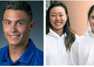 Athletes of the Week: Grace Fuss/Carol Cai and Will Baynham