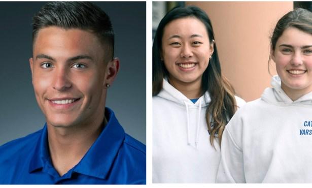Athletes of the Week: Grace Fuss/Carol Cai and Will Baynham