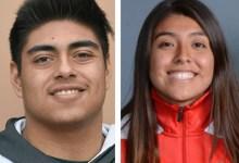 Athletes of the Week: Elizabeth Estrada and Johnny Valencia