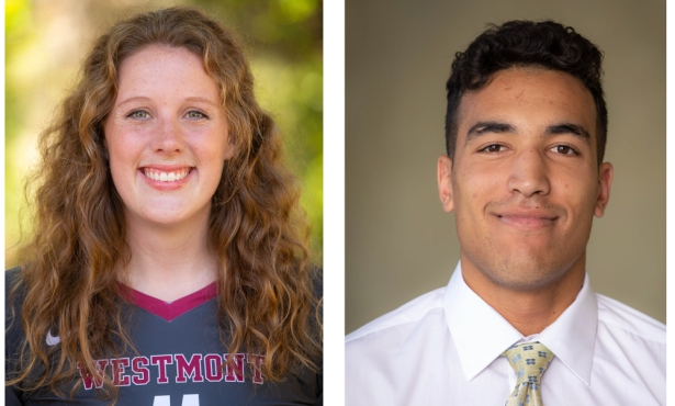 Athletes of the Week: Cassidy Rea and Justin Bessard
