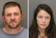 Two Charged with Credit Card Theft