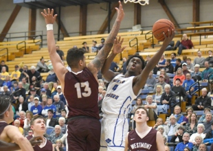 UCSB Cruises to 87-66 Victory Over Westmont