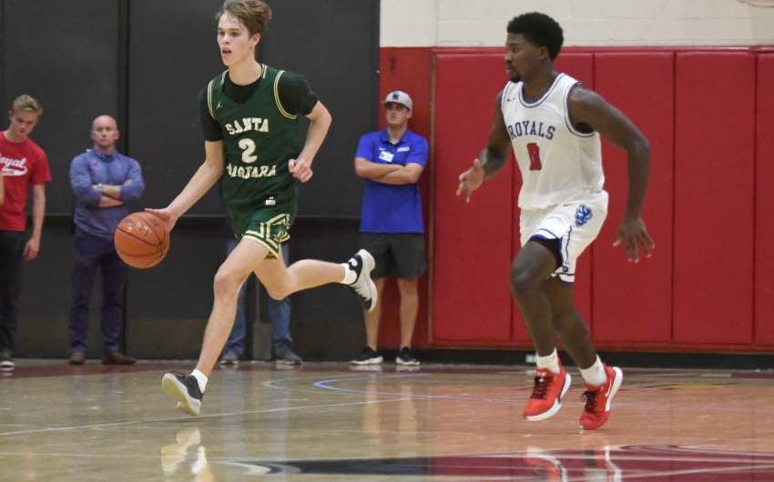 Dons Battle Royals in Basketball and Soccer