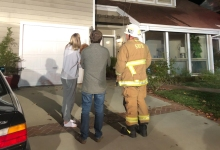 Chimney Fire Breaks Out at Santa Barbara Home