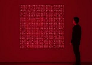 Four Pieces by Artist Tatsuo Miyajima