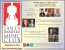 Santa Barbara Music Club 50th Season of free Conce