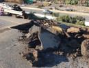Turnpike Sinkhole Under Repair