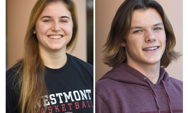 Athletes of the Week: Maud Ranger and Hayden Carlson