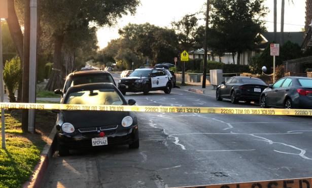 Police Investigating Olive Street Homicide