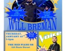 Top 8 Finalist of The Voice – Will Breman