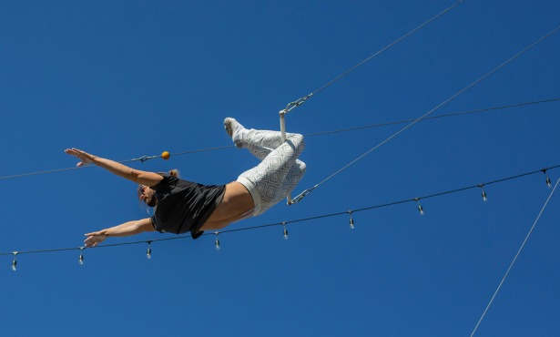 Find Your Inner Daredevil with Santa Barbara Trapeze Company
