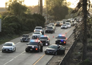 High-Speed Chase Ends with Two Arrests in Carpinteria