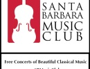 Santa Barbara Music Club 50th Season Free Concerts