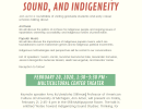 Symposium on Music, Sound, and Indigeneity