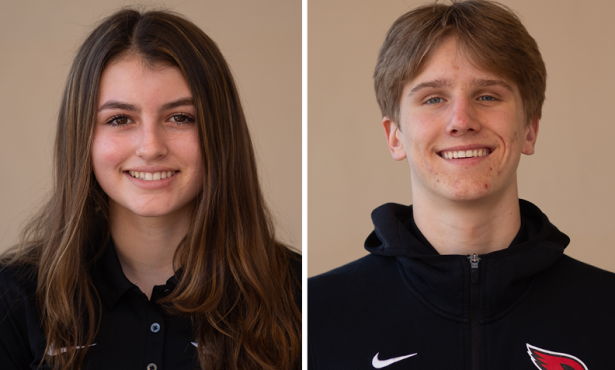 Athletes of the Week: Elliot Redkey and Kai Morphy