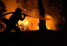 Power Lines Started Holiday Fire in Goleta