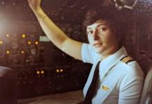 Female Pilot Captain Karen M. Kahn Still Flying High
