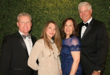 Cottage Hospital Supporters Celebrate at Tiara Ball
