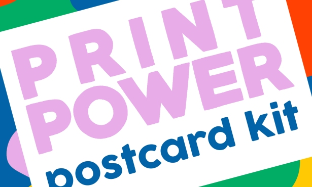 Print Power Postcard Project Via Snail Mail