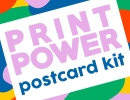 PRINT POWER Postcard Kit