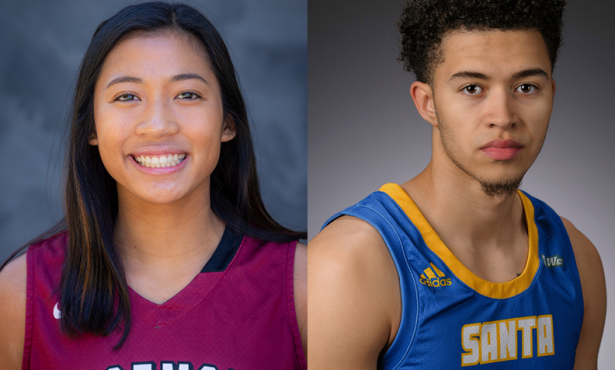 Athletes of the Week: Stefanie Berberabe and JaQuori McLaughlin