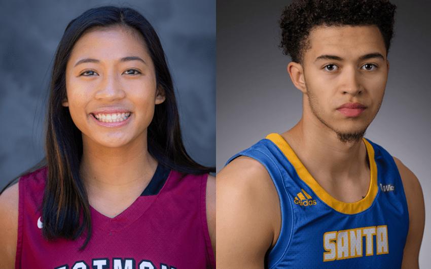Athletes of the Week: Stefanie Berberabe and JaQuori McLaughlin