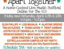 Facebook Livestream Music Festival: The Art of Community – Apart Together