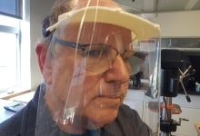Nano Scientists Make Face Shields for Cottage