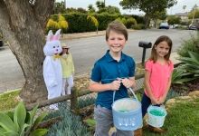 Bartron Group's Easter Bunny Makes Surprise Visits