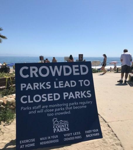 Santa Barbara County Says Social Distancing Mandatory At