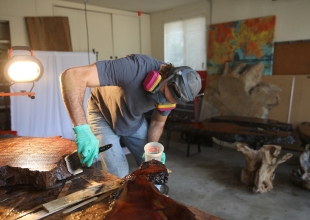 Golden Coast Burls Combats Climate Change