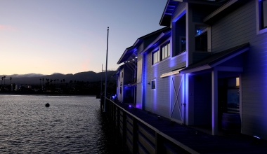 Santa Barbara Joins Global #LightItBlue Movement